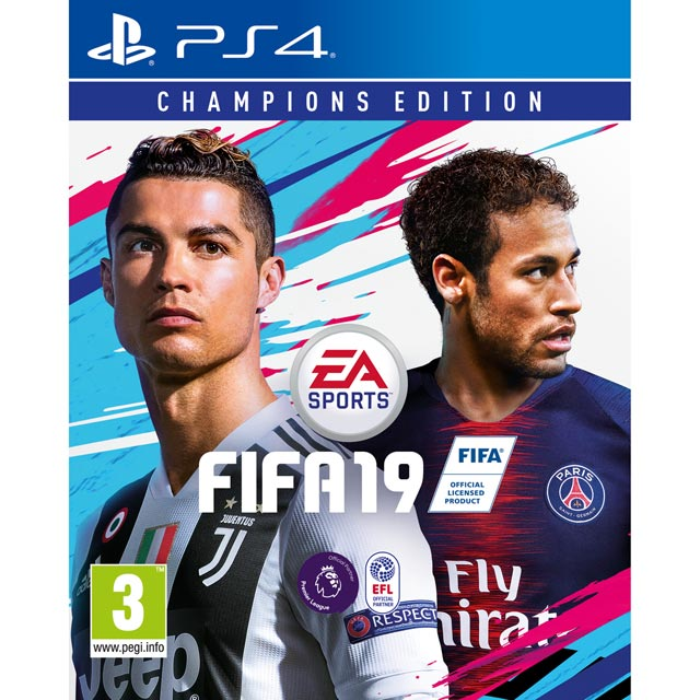 FIFA 19 Champions Edition for Sony PlayStation - P4RESSELE12277 - 1