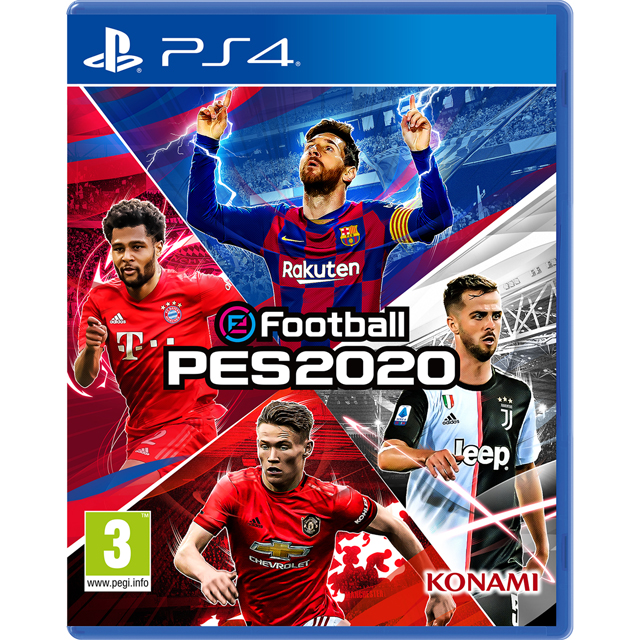 eFootball PES 2020 for PlayStation 4