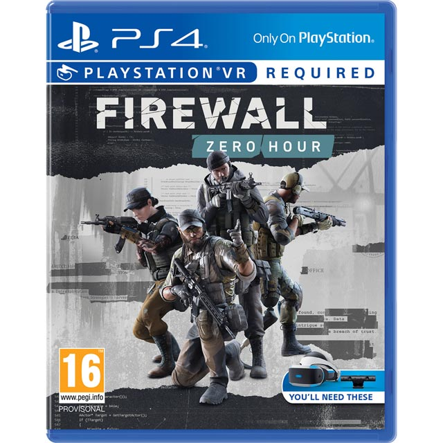 Firewall: Zero Hour VR for PlayStation 4 - P4REVRSNY38937 - 1