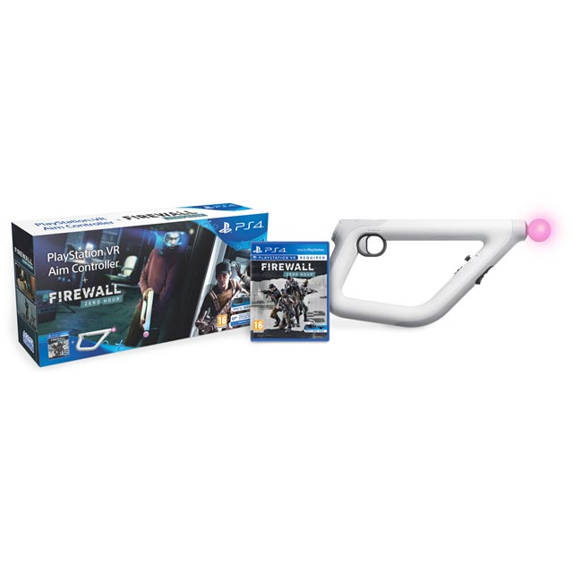 Firewall: Zero Hour VR With Aim Controller for Sony PlayStation - Black