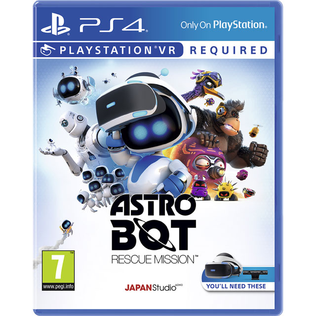 Astro Bot Rescue Mission for PlayStation 4 - P4REVRSNY76181 - 1