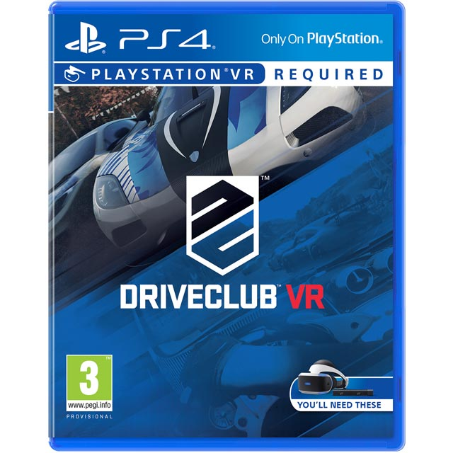 DriveClub VR for PlayStation 4