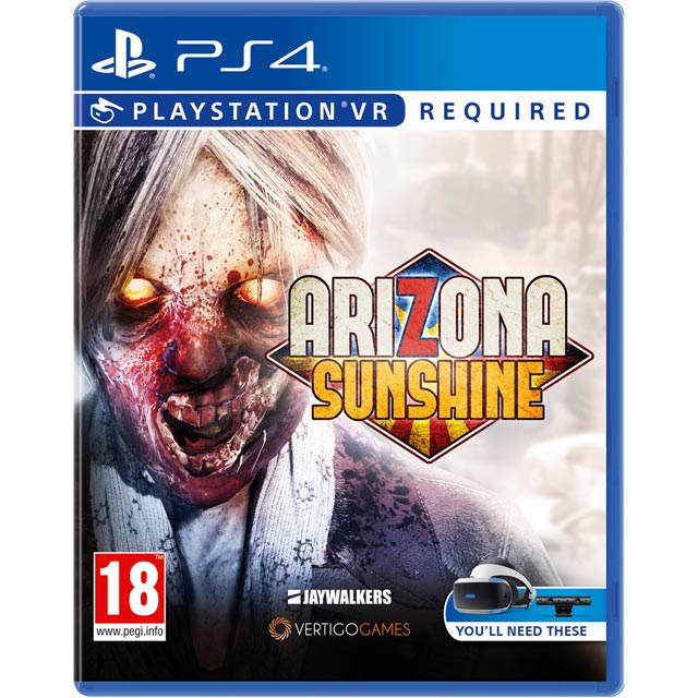 Arizona Sunshine for PlayStation 4 - P4REVRSNY97566 - 1