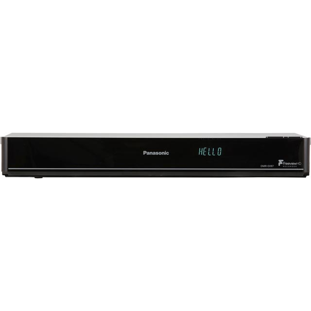 Panasonic DMR-EX97EB-K DVD Player with DVD Recording - Black - DMR-EX97EB-K - 1
