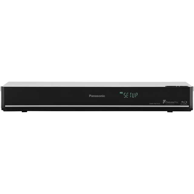 Panasonic DMR-PWT550EB Smart 3D Blu-ray Player with Freeview HD Recorder 500 GB - Black - DMR-PWT550EB - 1