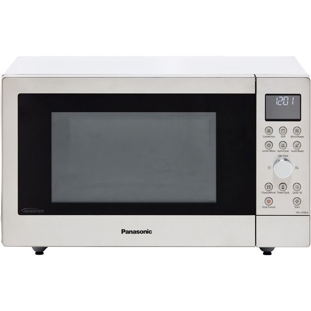Panasonic NN-CD58JSBPQ 27 Litre Combination Microwave Oven - Silver