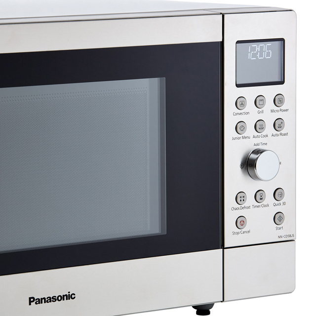 Panasonic NN-CD58JSBPQ 27 Litre Combination Microwave Oven - Silver - NN-CD58JSBPQ_SI - 3