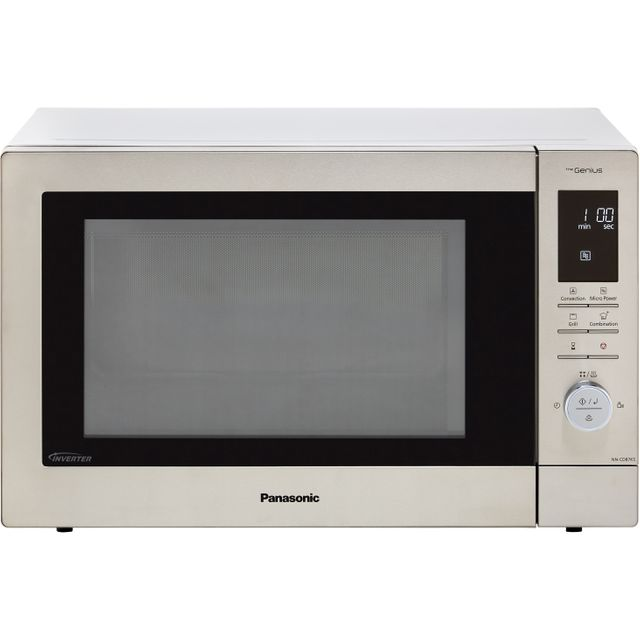 Panasonic NN-CD87KSBPQ 34 Litre Combination Microwave Oven - Stainless Steel - NN-CD87KSBPQ_SS - 1