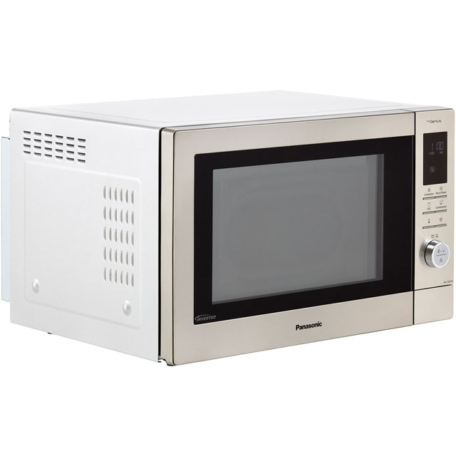 Panasonic NN-CD87KSBPQ 34 Litre Combination Microwave Oven - Stainless Steel - NN-CD87KSBPQ_SS - 2