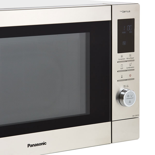 Panasonic NN-CD87KSBPQ 34 Litre Combination Microwave Oven - Stainless Steel - NN-CD87KSBPQ_SS - 3