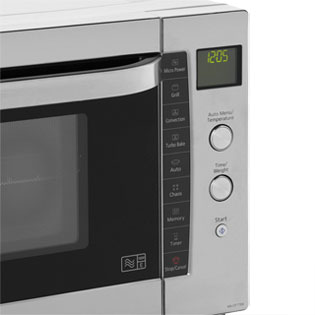 Panasonic microwave won't heat