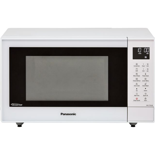 Panasonic NN-CT55JWBPQ 27 Litre Combination Microwave Oven - White