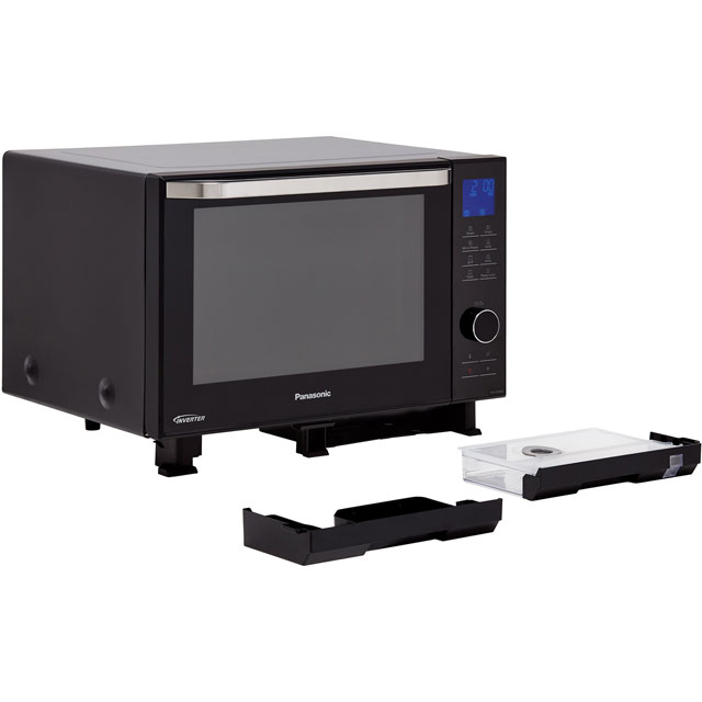 Panasonic 4in1 Steam NN-DS596BBPQ 27 Litre Combination Microwave Oven - Black - NN-DS596BBPQ_BK - 4