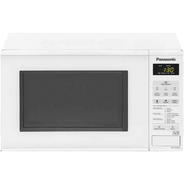 Panasonic Compact Nn E271wmbpq 20 Litre Microwave White