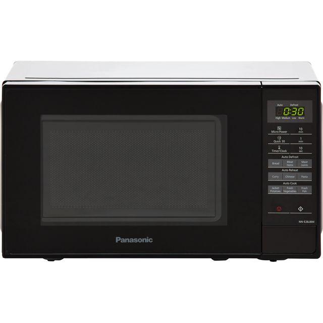 Panasonic Nn E28jbmbpq 20 Litre Microwave Black Bk 1