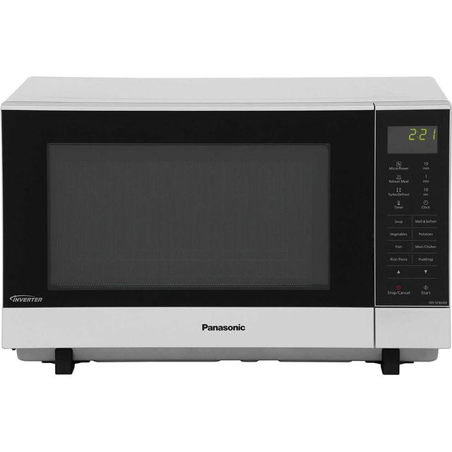 Panasonic NN-SF464M Flatbed Microwave - Stainless Steel