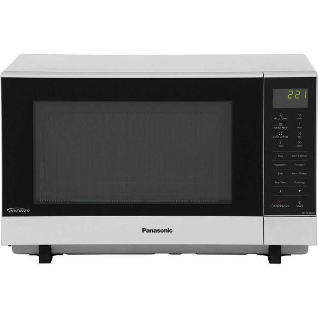 Panasonic Nn Sf464mbpq 27 Litre Microwave Silver