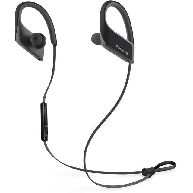 Panasonic RP-BTS30E-K In-Ear Wireless Sports Headphones - Black