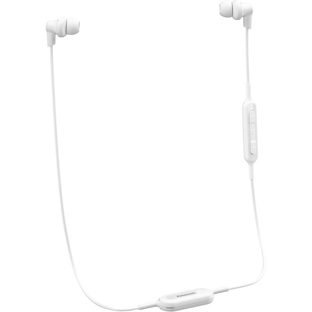 Panasonic RP-NJ300BE-W In-Ear Wireless Headphones - White - RP-NJ300BE-W - 1