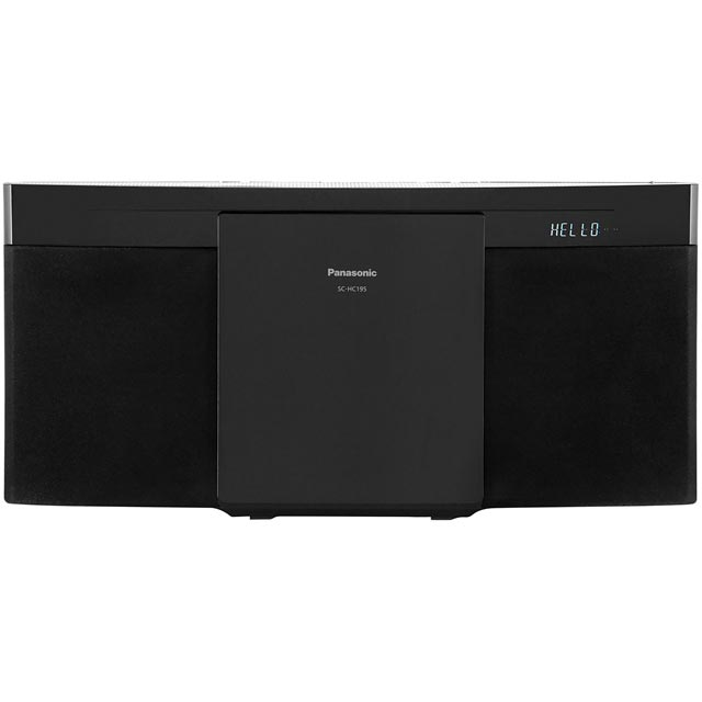 Panasonic SC-HC195 Hi-Fi System in Black