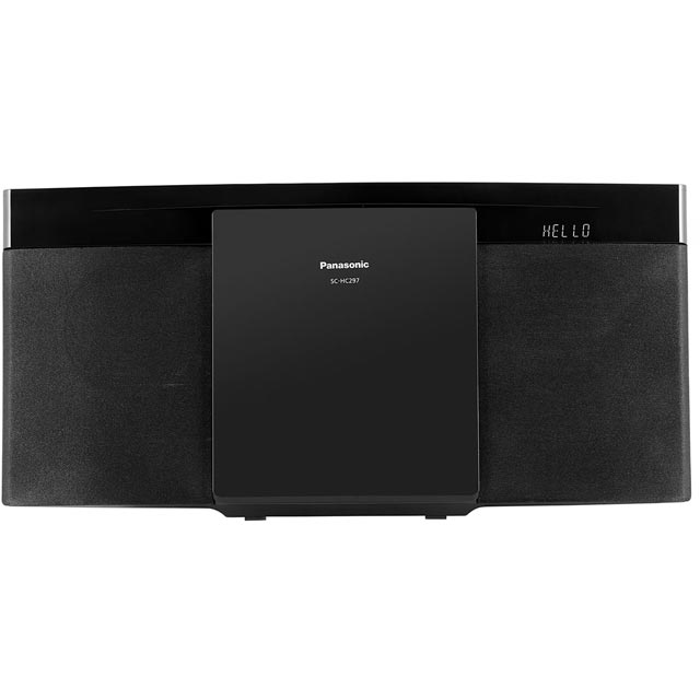 Panasonic SC-HC297 Hi-Fi System in Black