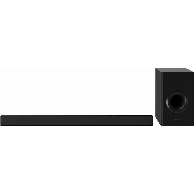 Panasonic SC-HTB488EBK Bluetooth Soundbar with Wireless Subwoofer - Black - SC-HTB488EBK - 1