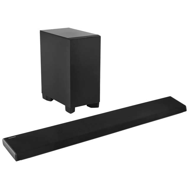 panasonic sc htb690ebk 350 watt soundbar bluetooth with. Black Bedroom Furniture Sets. Home Design Ideas