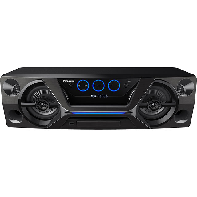 Panasonic SC-UA3E-K 300 Watt High Power Mini Hi-Fi System with Bluetooth - Black - SC-UA3E-K - 1