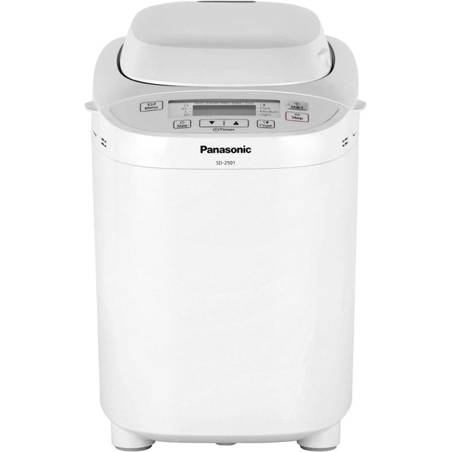 Panasonic SD-2501WXC Bread Maker with 27 programmes - White - SD-2501WXC_WH - 1
