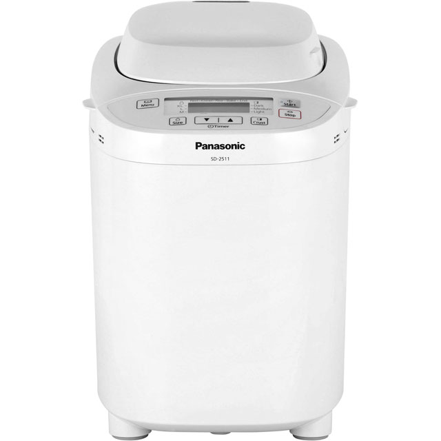 Panasonic SD-2511WXC Bread Maker with 33 programmes - White - SD-2511WXC_WH - 1