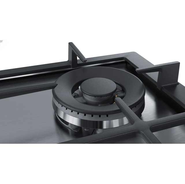 Bosch Serie 6 PCH6A5B90 Built In Gas Hob - Stainless Steel - PCH6A5B90_SS - 4