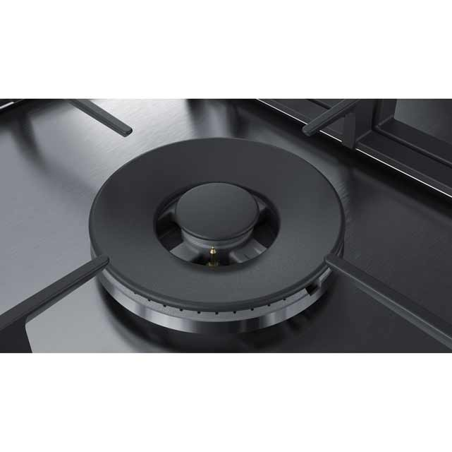 Bosch Serie 6 PCR9A5B90 Built In Gas Hob - Stainless Steel - PCR9A5B90_SS - 5