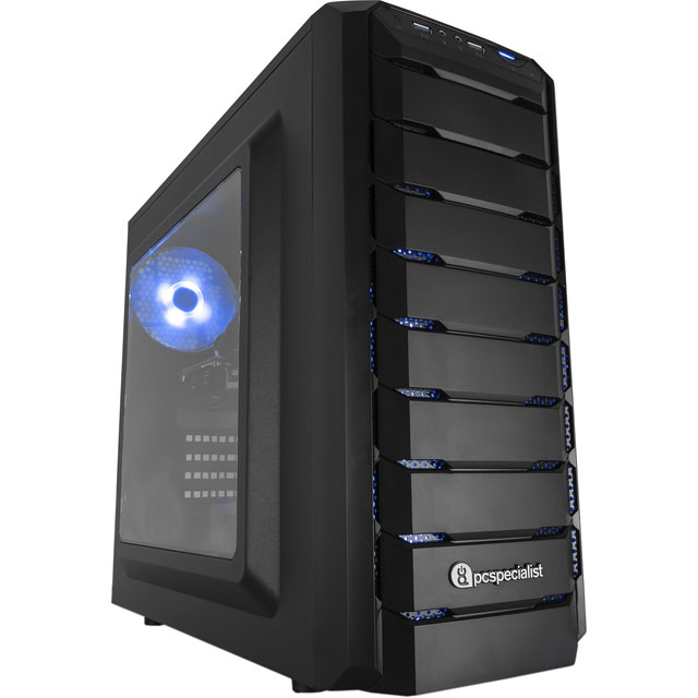 PC Specialist Velocity Core 1070 Gaming Tower - Black