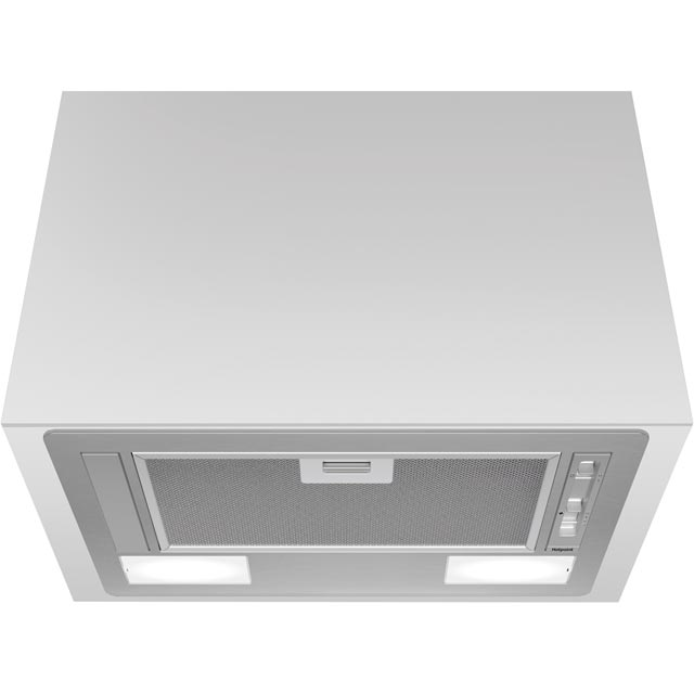 Hotpoint PCT64FLSS Built In Integrated Cooker Hood - Stainless Steel - PCT64FLSS_SS - 1