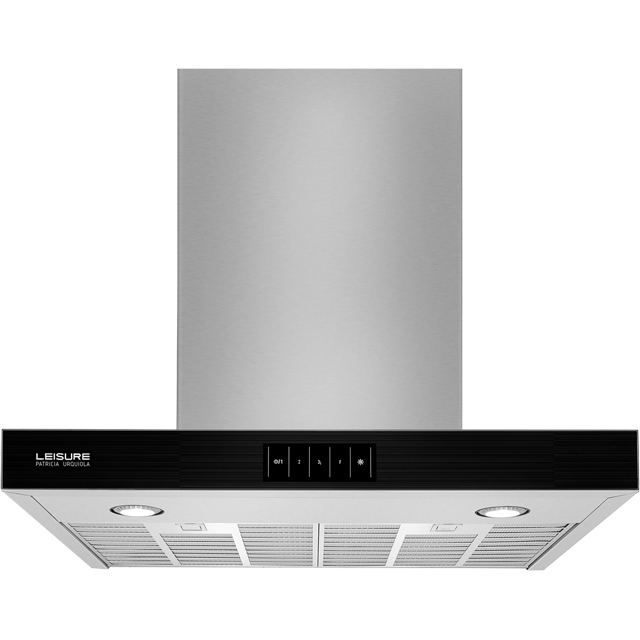 Leisure PCWB6752XBP 60 cm Chimney Cooker Hood - Black - PCWB6752XBP_BK - 2