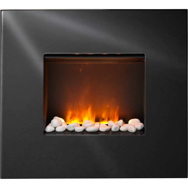 Dimplex Pemberley PEM20 Pebble Bed Wall Mounted Fire With Remote Control - Black - PEM20_BK - 1