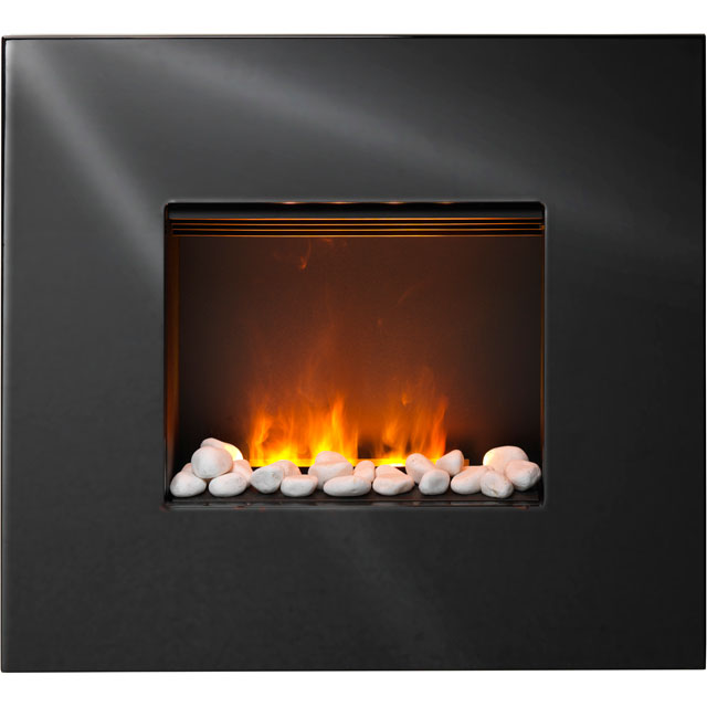Dimplex Pemberley PEM20E Pebble Bed Wall Mounted Fire With Remote Control - Black - PEM20E_BK - 1