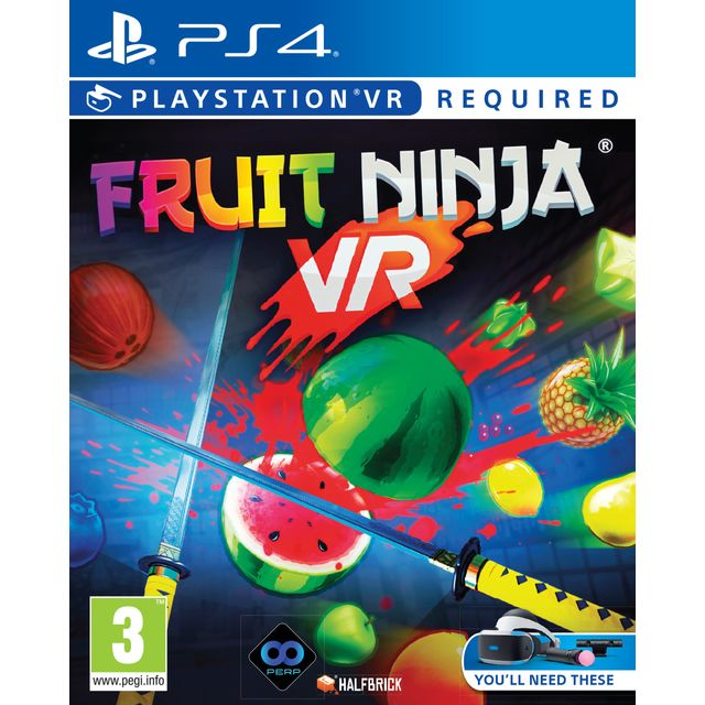 Fruit Ninja VR for PlayStation 4