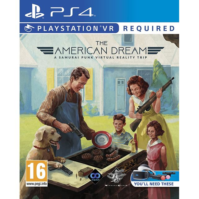 The American Dream for Sony PlayStation - PG000074 - 1