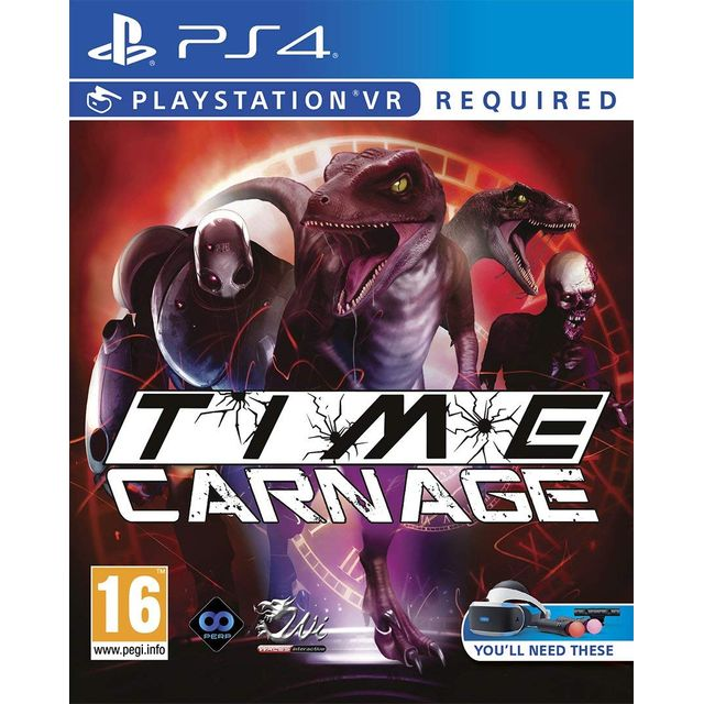Time Carnage for Sony PlayStation - PG000088 - 1