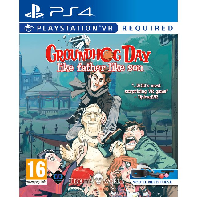 Groundhog Day: Father Like Son for Sony PlayStation