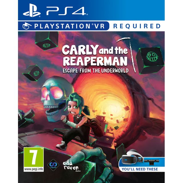 Carly and the Reaper Man for Sony PlayStation