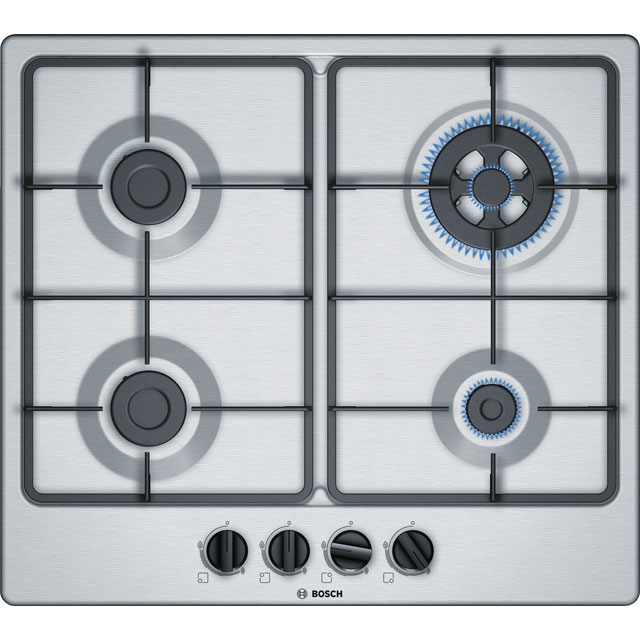 Bosch Serie 4 58cm Gas Hob - Stainless Steel