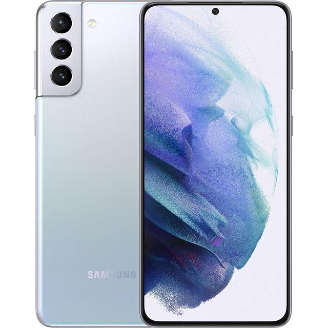 Samsung Galaxy S21+ 5G Smartphone SIM Free Android Mobile Phone Phantom Silver 256GB (UK Version)