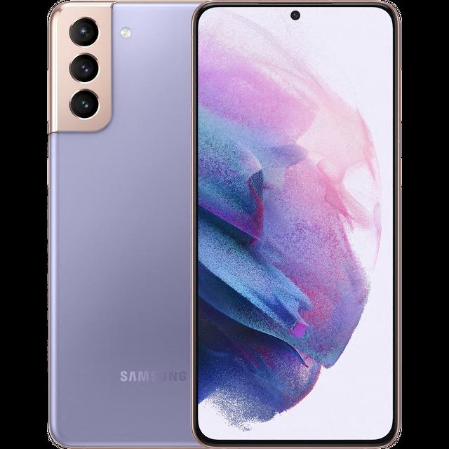 Samsung Galaxy S21+ 5G Smartphone SIM Free Android Mobile Phone Phantom Violet 128GB (UK Version)