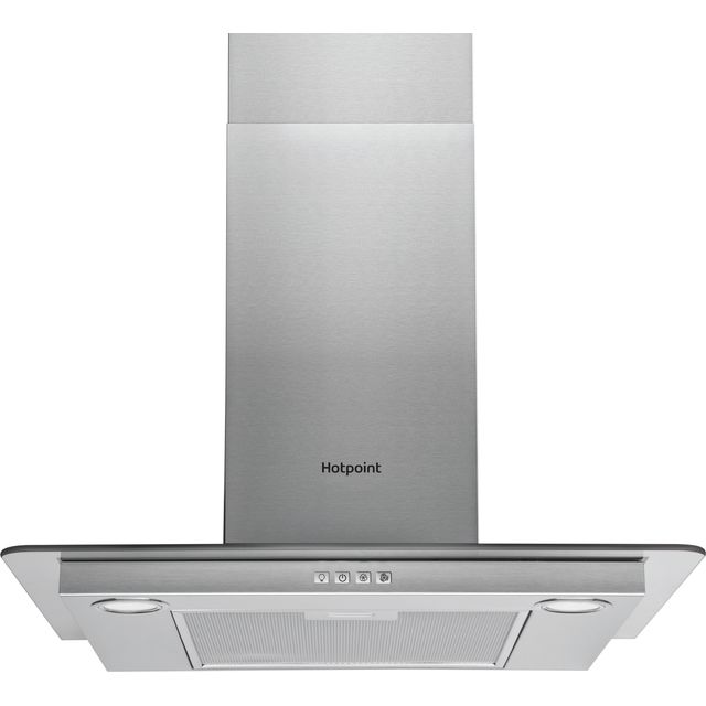 Hotpoint PHFG6.4FLMX 60 cm Chimney Cooker Hood - Stainless Steel - D Rated - PHFG6.4FLMX_SS - 1