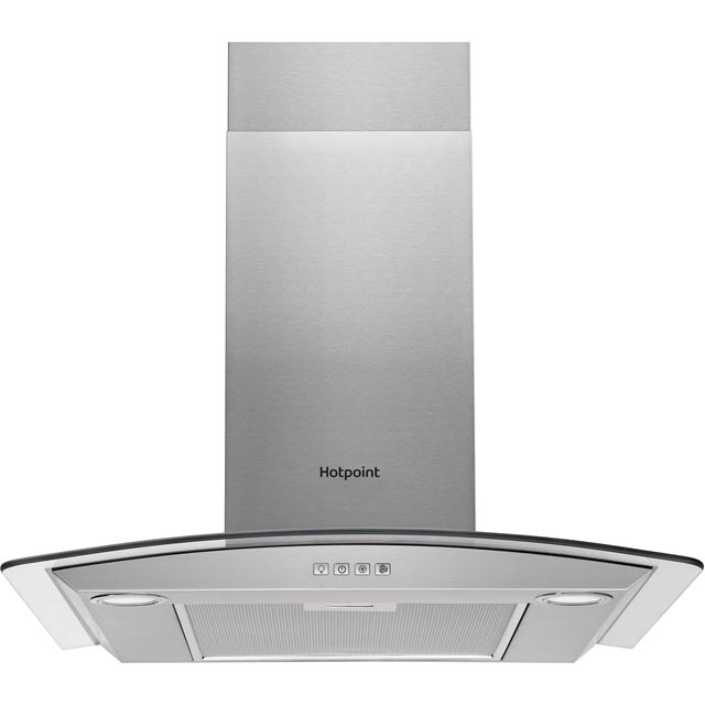 Hotpoint PHGC7.4FLMX 70 cm Chimney Cooker Hood - Stainless Steel - D Rated - PHGC7.4FLMX_SS - 1