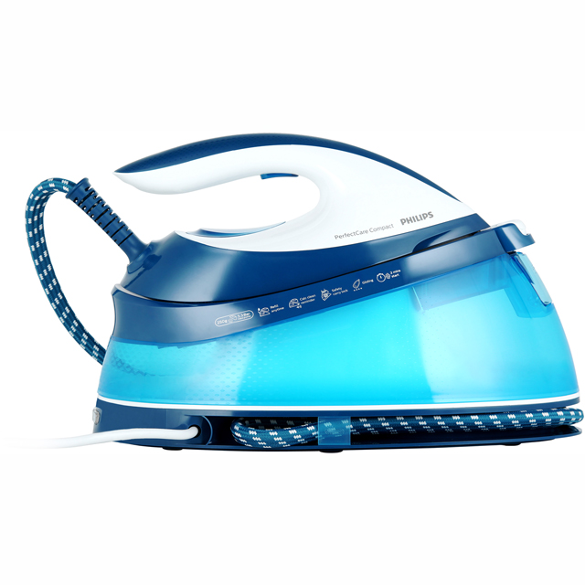 Philips PerfectCare Compact GC7805/20 Pressurised Steam Generator Iron - Blue - GC7805/20_BL - 1