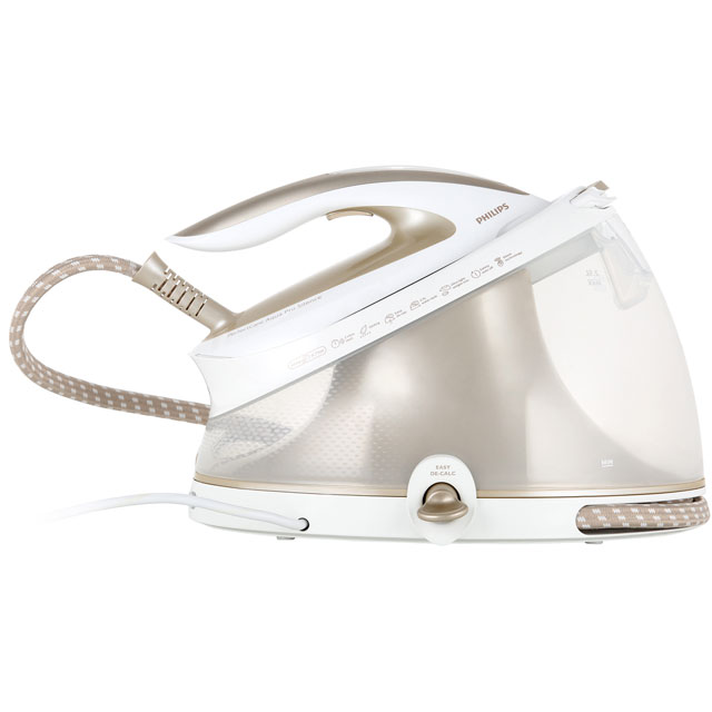 Philips PerfectCare Aqua Pro GC9410/60 Pressurised Steam Generator Iron - White / Gold - GC9410/60_WH - 1