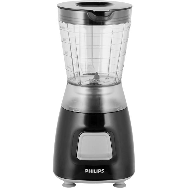 Philips Daily Collection HR2052/91 1.25 Litre Blender with 2 Accessories - Black